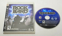 Rock Band Black Label (Sony PlayStation 3, 2007) In Box