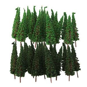 Packung Pagodenbaummodell im HO OO Maßstab für den Bau einer 100 Stück