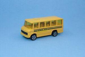 Vintage Corgi Juniors Whizzwheels Mercedes Benz School Bus VGC