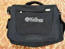 High Sierra Messenger Laptop Bag Northwestern Kellogg School Management Logo MBA