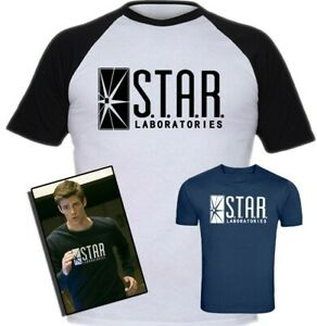 S.T.A.R. Laboratories T-Shirt Inspired By Flash TV Series Screen-Printed T-Shirt
