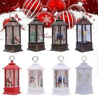 Holy Family Lighted Nativity Water Glittering Swirling Snow Globe Lantern Hot