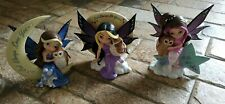 Lot Of 3 Jasmine Becket Griffith Rare Mystic Visions Figurines
