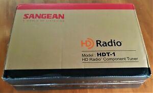 New Sangean HDT-1 Component Tuner for AM/FM/HD radio