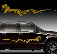 Horse Stripe Side Body Decal Graphic Truck Trailer 60""