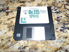 Do 335 Pfeil (PC, 1992) Game MS-Dos 3.5 Inch Floppy Disk (Near Mint)