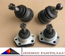 2 Upper & 2 Lower ball joints  Low Price Suspension Parts High Quality