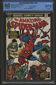 Amazing Spider-Man #140 DOUBLE COVER CBCS 6.0 off White/White. Not CGC