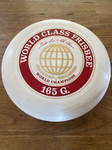 c.1980 Vintage WHAM-O® FRISBEE® World Class 165g MODEL flying disc, used Monika