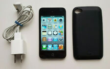 Apple iPod Touch 4th Generation 8GB A1367 Black + Power Cable + Case