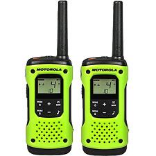 Motorola 2-Way Radio, 2-Pack, 35Mi., Green, Float
