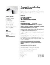 Do You Already Have a Resume?  Resume Formatting - Resume Reformatting Services