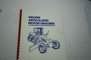 Galion Dresser A500 & A550 Articulated Motor Graders Brochure Free Shipping