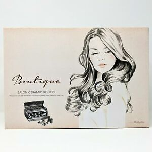 BaByliss Boutique Salon Ceramic 12 Heated Rollers NEW Damaged Open Box No Manual