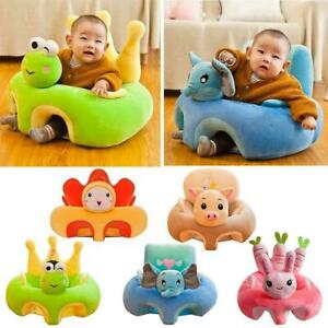 Cartoon Baby Sofa Support Seat Cover Soft Plush Chair Learn To Sit Up Cushion