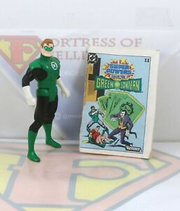 Vintage 1984 Kenner DC Super Powers Green Lantern w/Comic Original Action Figure