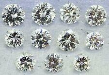 mixed round brilliant cut diamonds F-I SI2-VS1 1.45ct natural loose diamonds