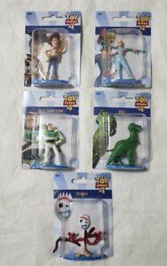 Disney Pixar Toy Story 4 Mini Figures Figurines Set Of 5