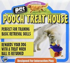 Pet Buddies Treat Dispensing House Interactive Play Dog Toy Ball PB4500