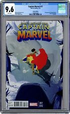 Captain Marvel #17B Campion 1:20 Variant CGC 9.6 2014 1998903008