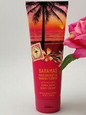 Bath and Body works BAHAMAS PINK PASSIONFRUIT BANANA FLOWER Body CREAM 8 oz