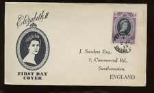 Sierra Leone Qe Coronation First Day Cover 1953 Freetown Cancel