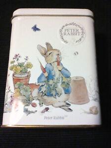 Peter Rabbit (Peter Hase) Teedose, Blech. (Leer!)