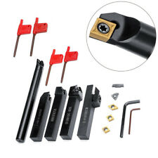 For Lathe Cnc Turning Tool Holder Equipment Metalworking 5pcs Portable