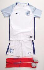Nike Dri-Fit Authentic England Football White Kit Size L / M 10-12 12-13 Socks