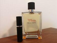 Terre D'Hermes EDT 5ml sample Travel glass atomizer fragrance