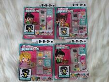 LOT OF 4 MY MINI MIXIE ; HEIRESS,CAT LOVER, AND 2 DUMMER INCLUDES MYSTERY FIGURE