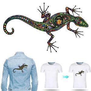 Lizard Heat Transfer - artisan art gecko reptile chameleon iguana film sticker