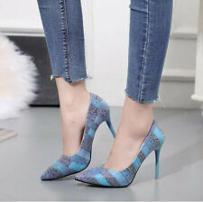 2019 Sexy Fashion Korean Versiont High-heeled Shoes 10cm Pointed Single Shoes