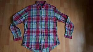 Ralph Lauren custom fit multicoloured  check shirt vgc large