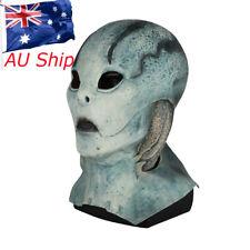 HellBoy Murloc Mask Cosplay Abe Sapien Blue Mask Halloween Scary Mask Prop New
