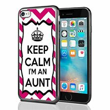 Chevron Pink Keep Calm Im An Aunt For Iphone 7 Case Cover By Atomic Market