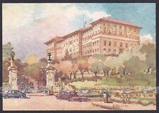 PARMA SALSOMAGGIORE TERME 174 HOTEL ALBERGO Illustratore G. FALZONI Cartolina