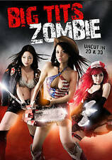NEW DVD - BIG *.* ZOMBIE - 2D + 3D VERSIONS & GLASSES  INCLUDED - UNCUT -