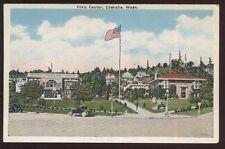 Postcard CHEHALIS Washington/WA  City Hall, Civic Center & Houses/Homes 1920's