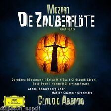 Mozart: Die Zauberflöte (Selezione) / Abbado, Pape,Röschmann - C