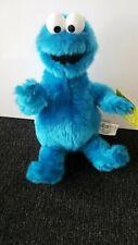 "2003 Nanco Sesame Street Workshop Cookie Monster 12"" Stuffed Plush Doll W Tags"