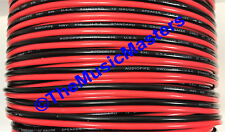 12 Gauge 30' ft SPEAKER WIRE Red Black Cable Car Audio Home Stereo 12V DC Power