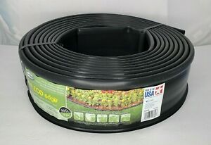 New Suncast Eco Edge 30' Plastic Lawn Garden Edging Roll Made in USA Recycled