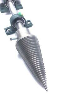 Log Wood Splitter Screw Kit Electric Motor Cutter Cone 100 mm Heavy Duty PTO