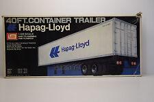 40FT CONTAINER TRAILER HAPAG LLOYD IAMI 1/28 NEUF EN BOITE
