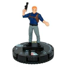 Marvel Heroclix Nicky fury agent of shield bouclier Paranormal Investigator #008a