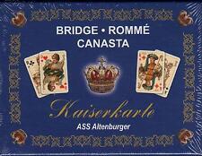 KAISERKARTE - ALTENBURGER KARTENSPIEL - Bridge - Romme` - Canasta - NEU