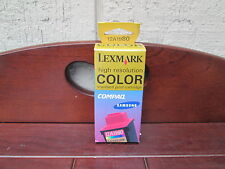 Lexmark high resolution COLOR standard print INK cartridge 12A1980