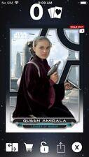 Topps Star Wars Digital Card Trader Galactic Files TPM Padme Insert Award