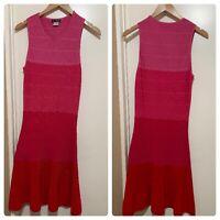 Venus dress size small pink sleeveless ombre women's